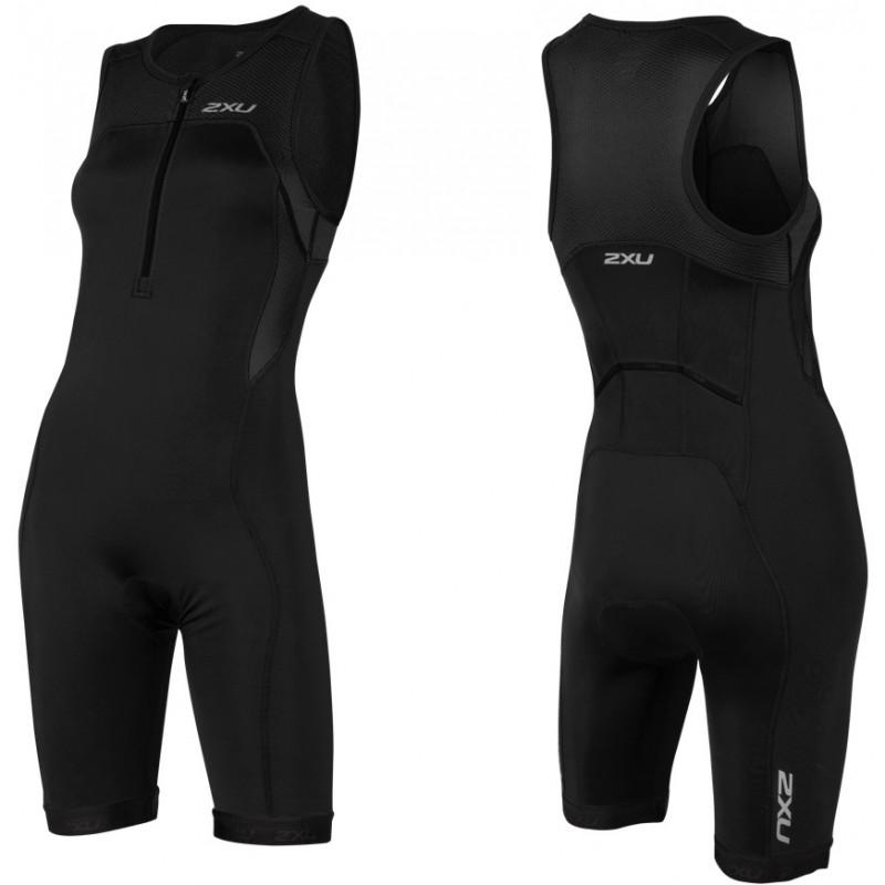 2XU moteriškas kostiumas ACTIVE trisuit (JUODA/JUODA)