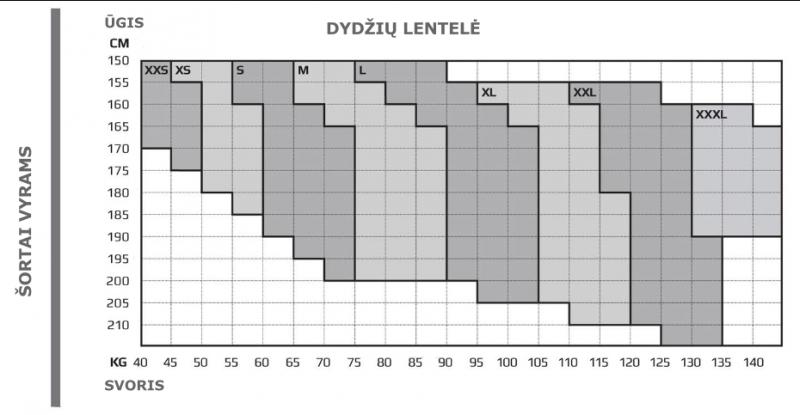 2XU vyriški kompresiniai šortai (JUODA/SIDABRINĖ)