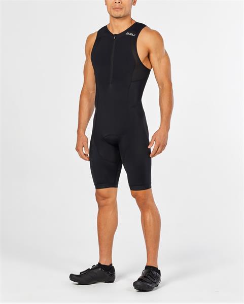 2XU vyriškas kostiumas ACTIVE trisuit (JUODA/JUODA)