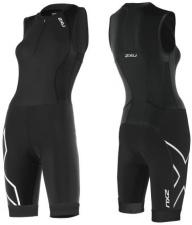2XU moteriškas kostiumas trisuit (JUODA/JUODA)