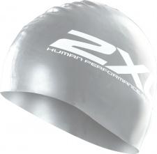 2XU plaukimo kepuraitė silikoninė (sidabrinė/juoda)